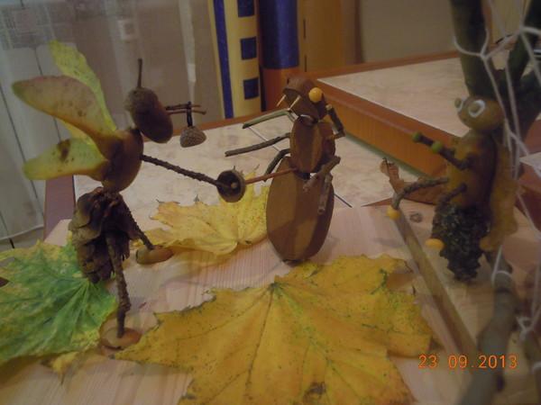 Поделка муха цокотуха фото