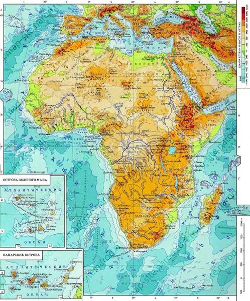 Почему реки африки которые впадают в